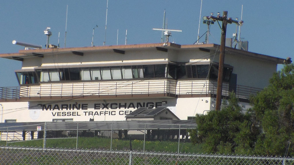 Marine Exchange Vessel Traffic Center, San Pedro, California