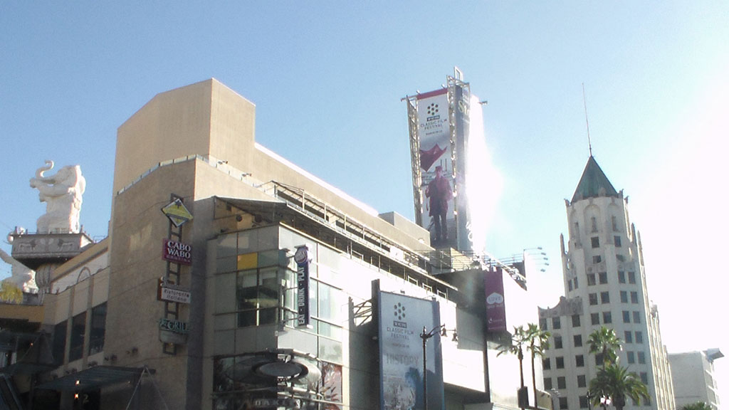 Hollywood Building Dolby
